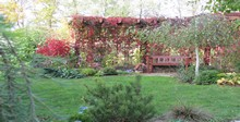 ландшафтный дизайн частный дом